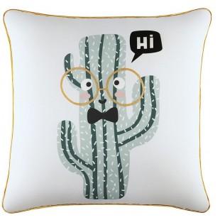 Moderná detská obliečka na vankúš s kaktusom