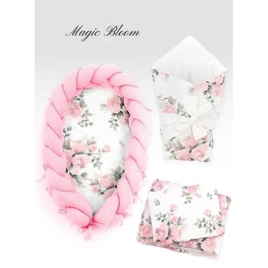 Dievčenská výbava pre novorodenca MAGIC BLOOM s kvetmi