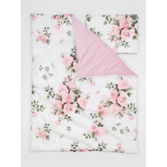 Detská posteľná bielizeň s elegantným motívom ruží MAGIC BLOOM