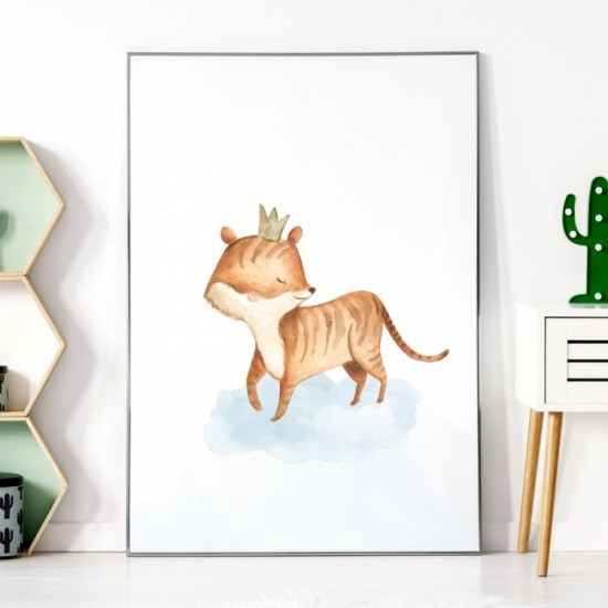 Detský plagátik na stenu s tigríkom