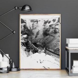 Plagát na stenu s motívom kaňónu