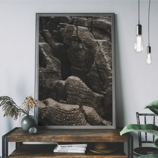 Plagát na stenu s motívom skalnatého pohoria