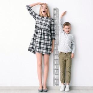 Detská nálepka na meranie výšky - vzor cesta
