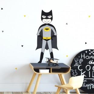 Detská nálepka na stenu s motívom BATMANA