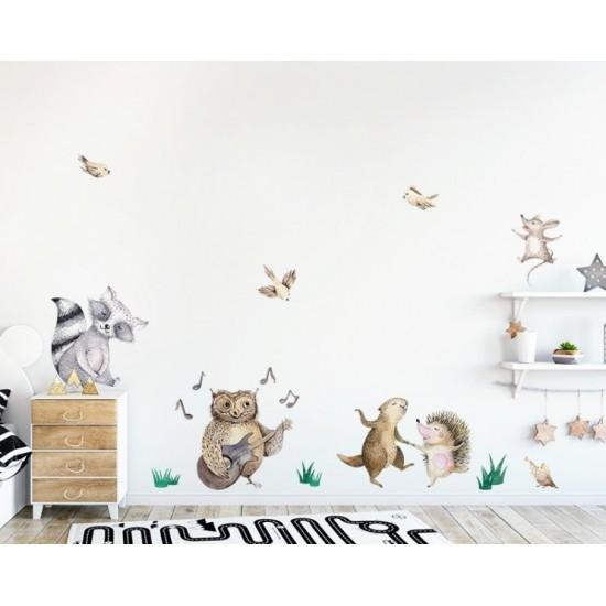 Detská nálepka na stenu LESNÁ KAPELA