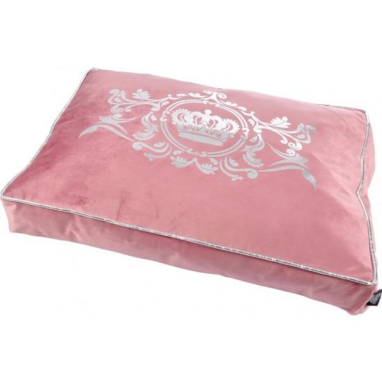 Ružové luxusné ležovisko pre zvieratká
