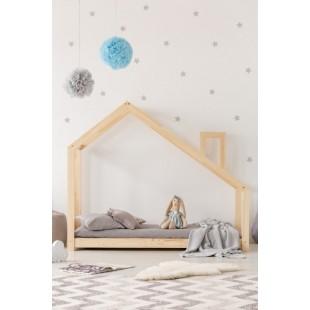 Detská posteľ domček s komínom Happy LIfe