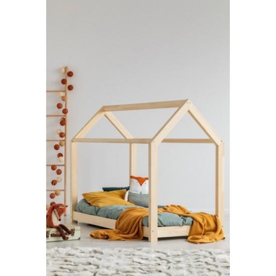 Vysokokvalitná drevená detská posteľ