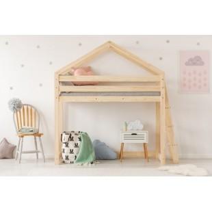 Detská posteľ so schodíkmi na boku