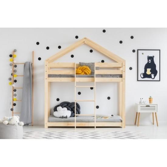 Poschodová detská posteľ s bočnicami Magic Time