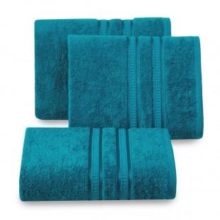 Tyrkysový bavlnený uterák