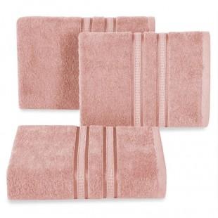Pudrový bavlnený uterák