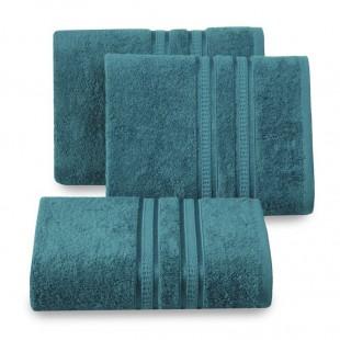 Modrý bavlnený uterák