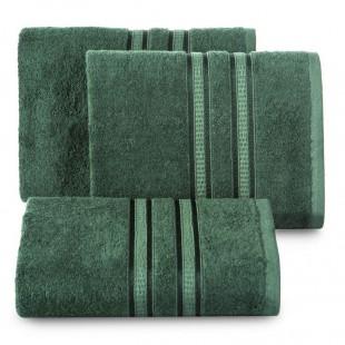 Tmavozelený bavlnený uterák