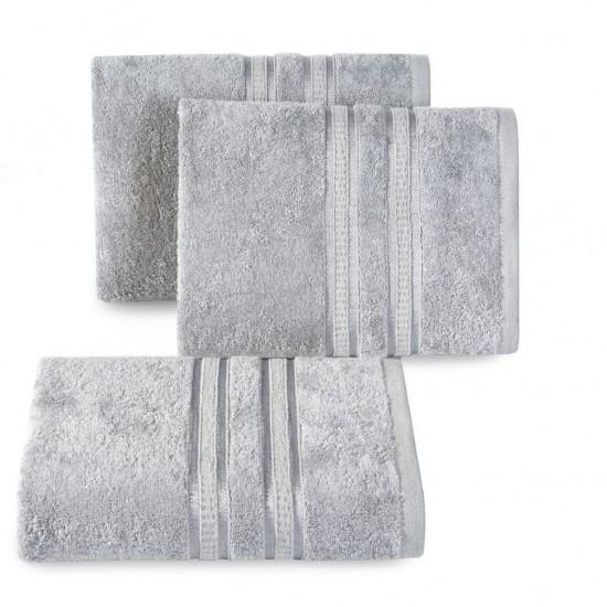 Svetlosivý bavlnený uterák