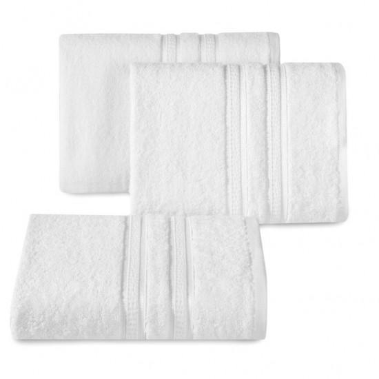 Biely bavlnený uterák