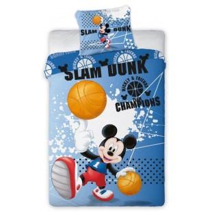 Bavlnené posteľné obliečky myšiak Mickey