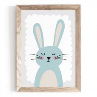 Plagát na stenu s motívom zajačika