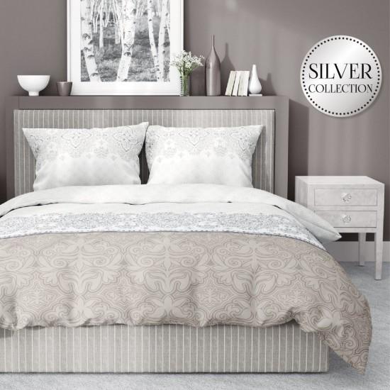 Elegantné béžové posteľné obliečky