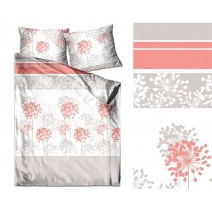 Elegantné farebné posteľné obliečky zo saténovej bavlny