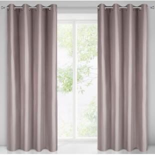 Jednodielny záves na okno v pudrovo rúžovej farbe