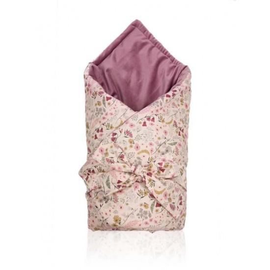 Zavinovačka pre bábätká s motívom lúčnych kvetov