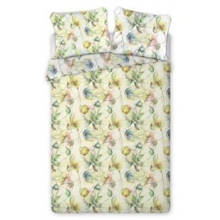 Obojstranné viacfarebné posteľné obliečky s kvetinovým vzorom