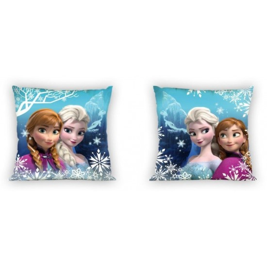 Detská obojstranná obliečka na vankúš Anna&Elsa