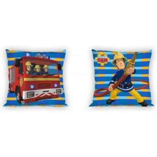 Detská obojstranná obliečka na vankúšik Požiarnik Sam