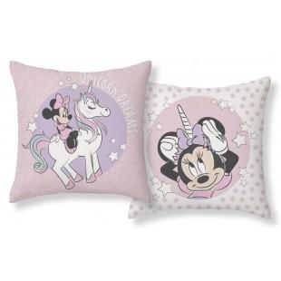Detská obojstranná obliečka na vankúš Minnie Mouse Unicorn Dreams