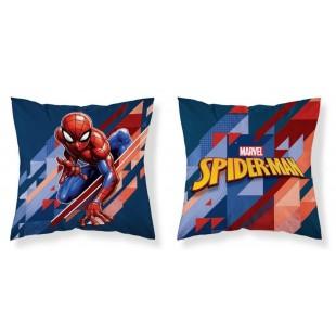 Ozdobná obojstranná detská obliečka na vankúšik Spider-Man