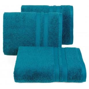 Bavlnený tyrkysový jednofarebný uterák