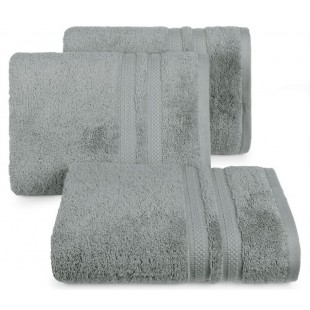 Bavlnený sivý jednofarebný uterák