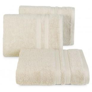 Bavlnený béžový jednofarebný uterák