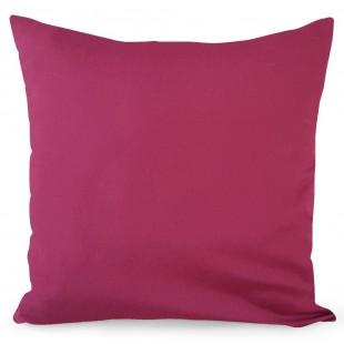 Ružová dekoračná obliečka na vankúš