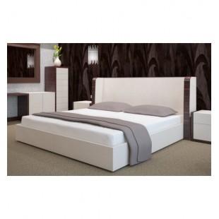 Biele froté posteľné prestieradlo s gumičkou