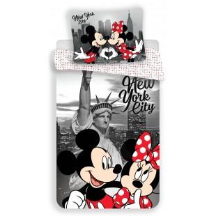 Detská posteľná obliečka Mickey Mouse NEW YORK