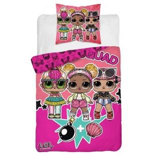 Bavlnená detská posteľná obliečka s motívom LOL Suprise