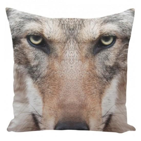 Návliečka na vankúš vzor vlk