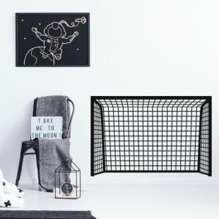Detská nálepka na stenu s motívom futbalovej bránky