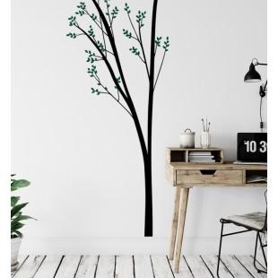 Nálepka na stenu vo vzore stromu