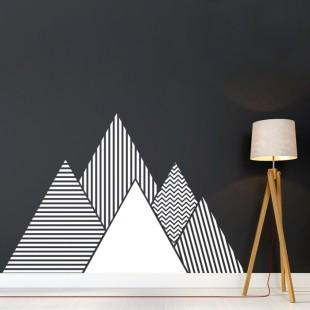 Nálepka na stenu s motívom hôr