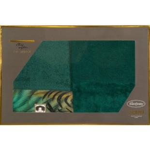 Sada 2 zelených ručníkov