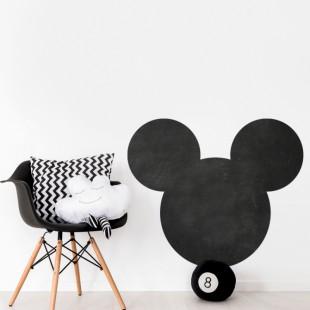 Nálepka na stenu z tabuľového materiálu s motívom myšky