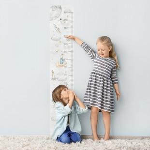Detská nálepka na meranie výšky - vesmírny svet