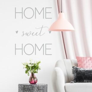 Nálepka na stenu s textom- HOME SWEET HOME