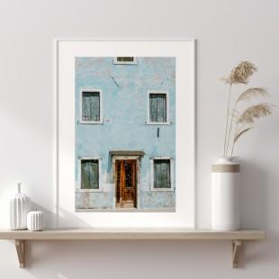 Plagát na stenu s motívom - Architektúra