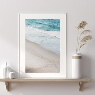 Plagát na stenu s motívom pláže