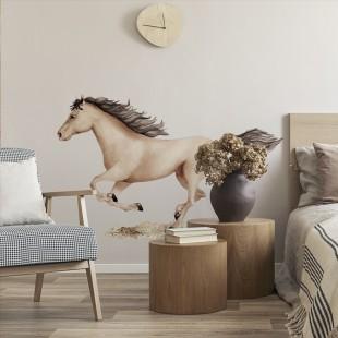 Detská nálepka na stenu so vzorom koníka