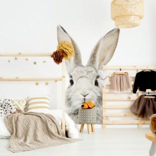 Detská nálepka na stenu s motívom králika Štefana